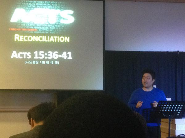 RT @VictorFThomas: Listening to @Samwoo_kim preach…
