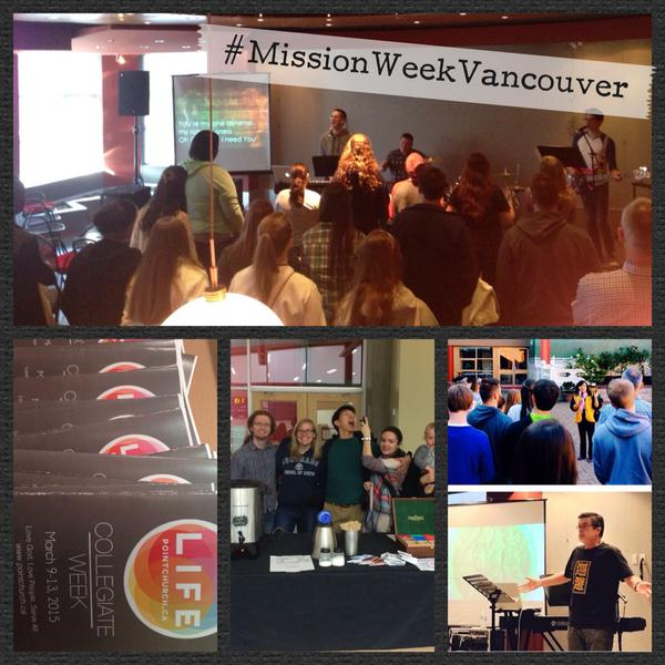 Collegiate Week off to a great start in @sendvanco…